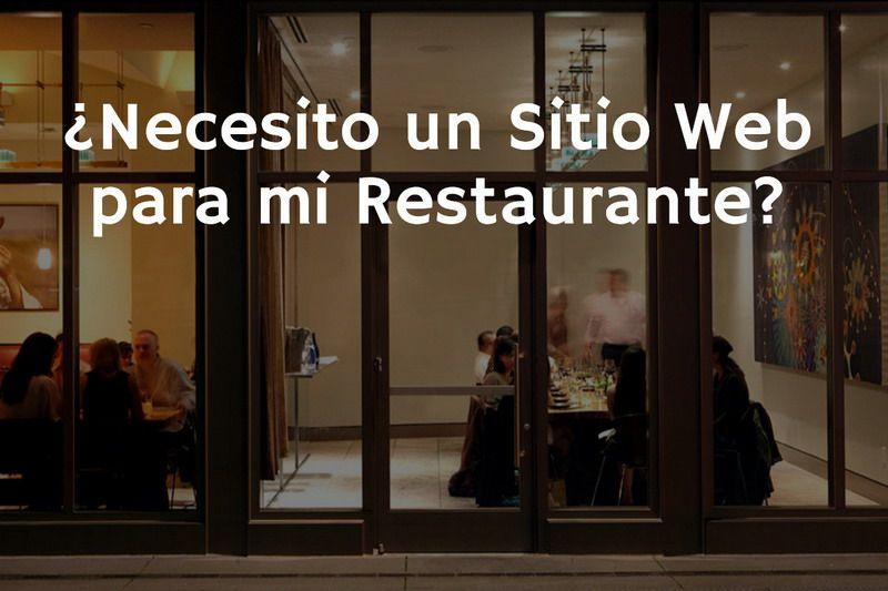 web-para-restaurante