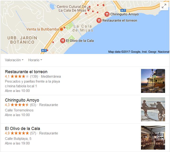google my business para tu negocio