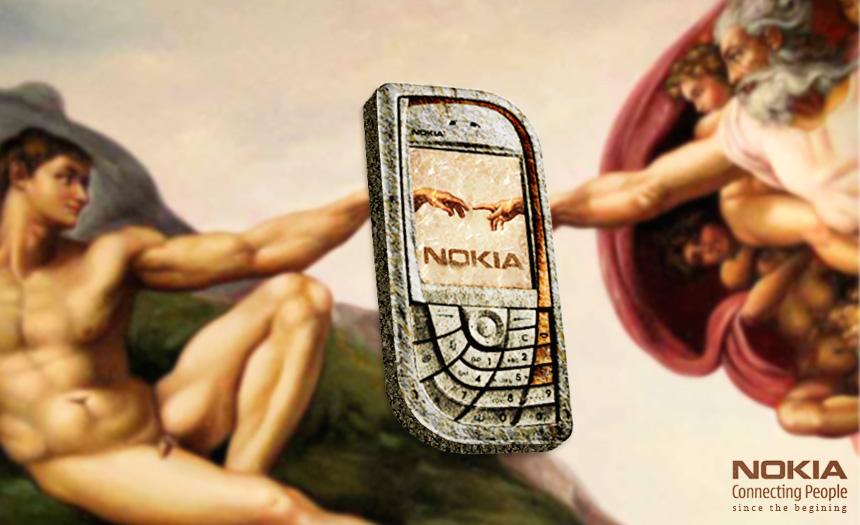La publicidad tambien es un arte - Página 5 Nokia-Capilla-Sixtina