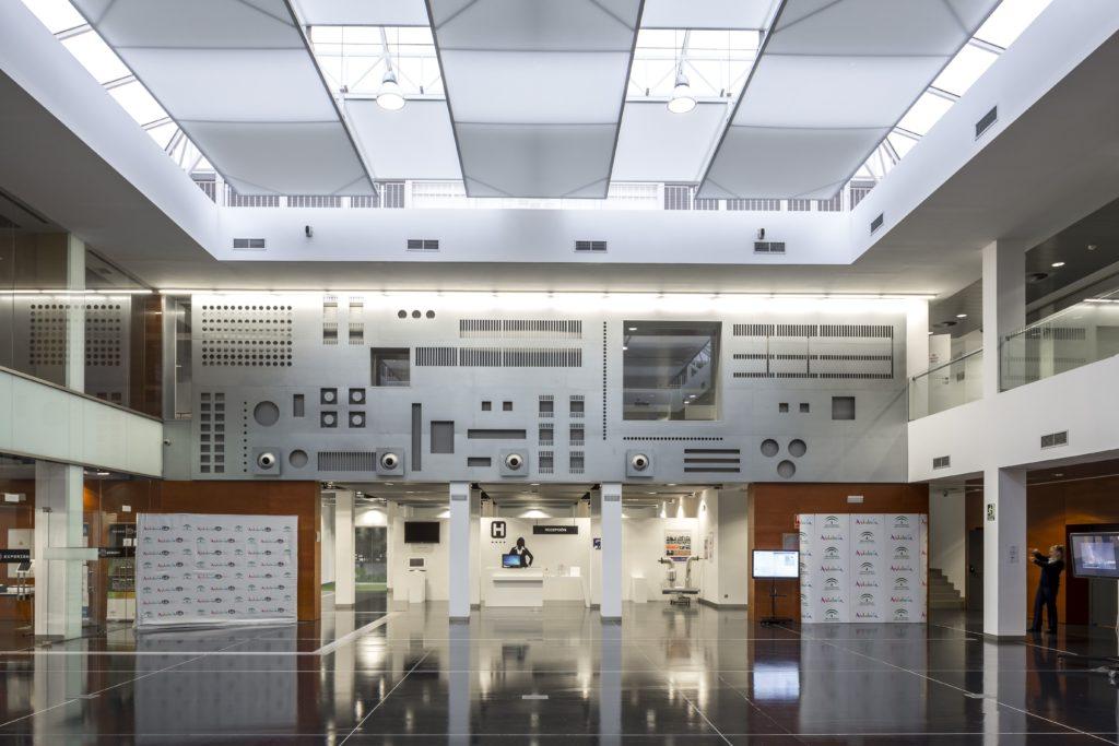 Instalaciones de Andalucía Lab en Marbella (Málaga). Fuente: Simon Garcia | arqfoto