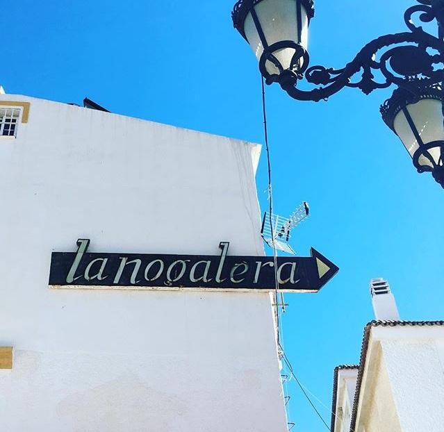 Tipografía característica en Torremolinos