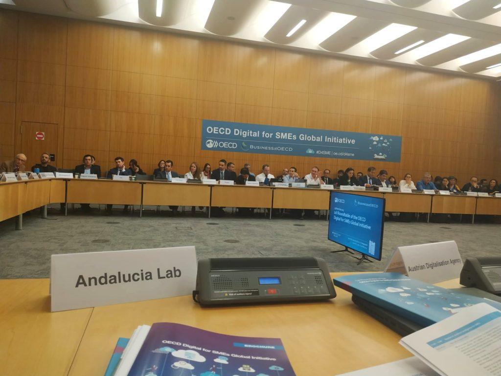 Andalucía Lab en la Jornada de la OECD digital en París