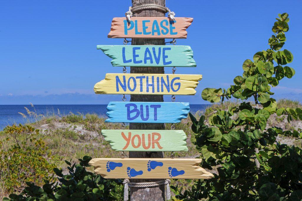Rotulación en turismo