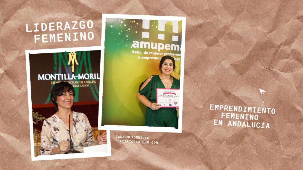 emprendimiento femenino en Andalucía con Caracol Tour y Electric Car Tour