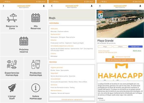 HAMACAPP, una solución para el turismo