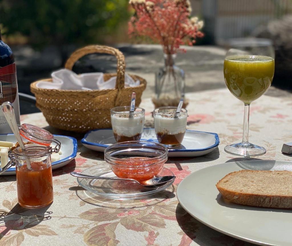 desayuno ecológico en la Subbética