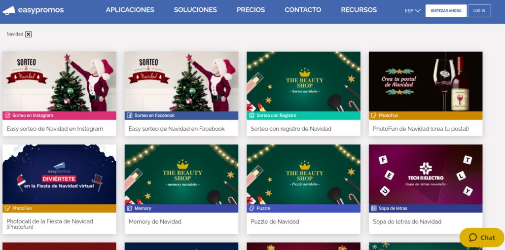 catalogo easypromos contenido top para estas navidades