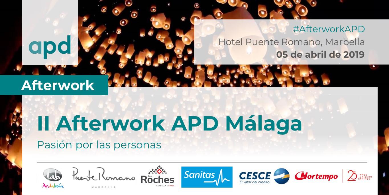 II Afterwork APD Málaga: Pasión por las Personas