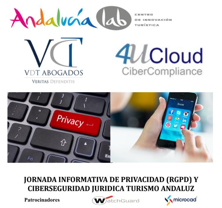 Jornada Informativa de Privacidad (RGPD) y Ciberseguridad Jurídica