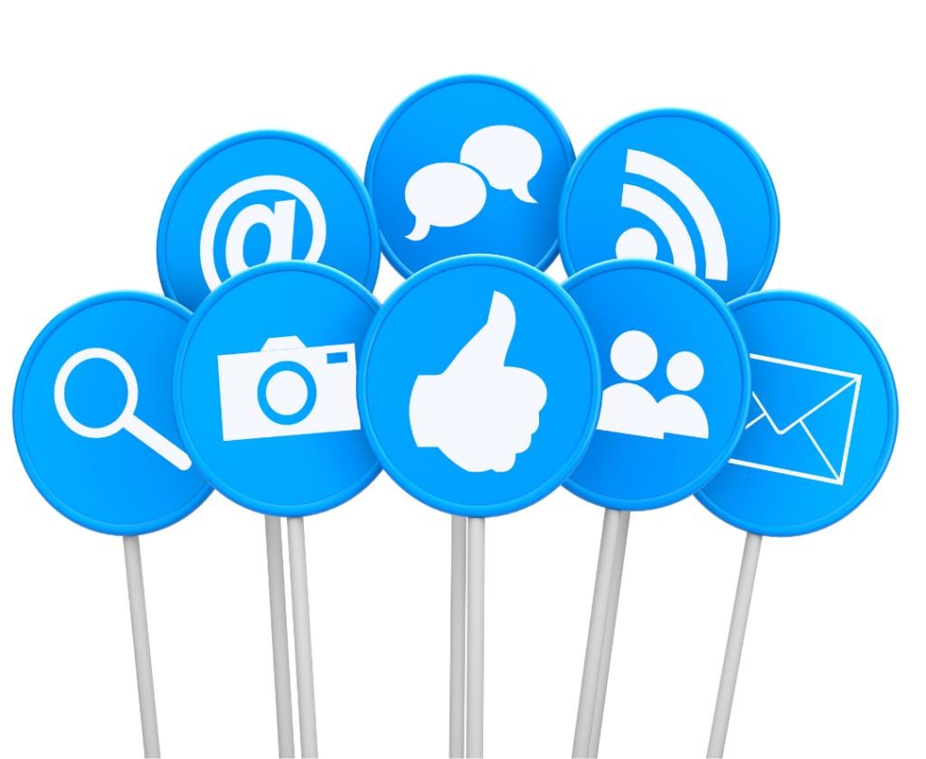 Medios sociales ejemplos