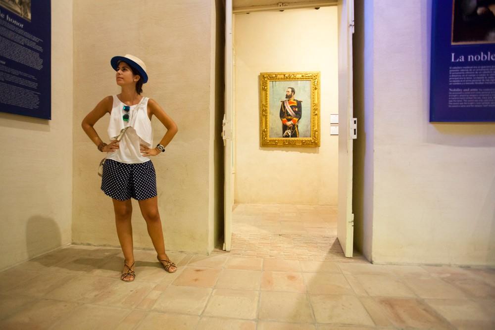 Atención al cliente en el museo