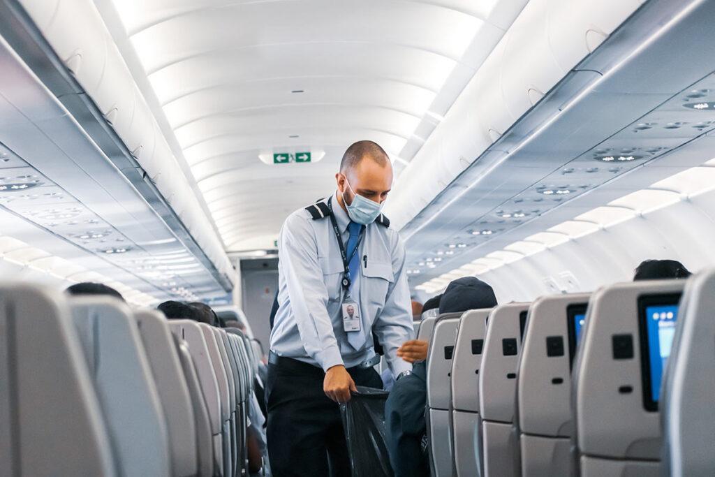 Atención al cliente en aviones