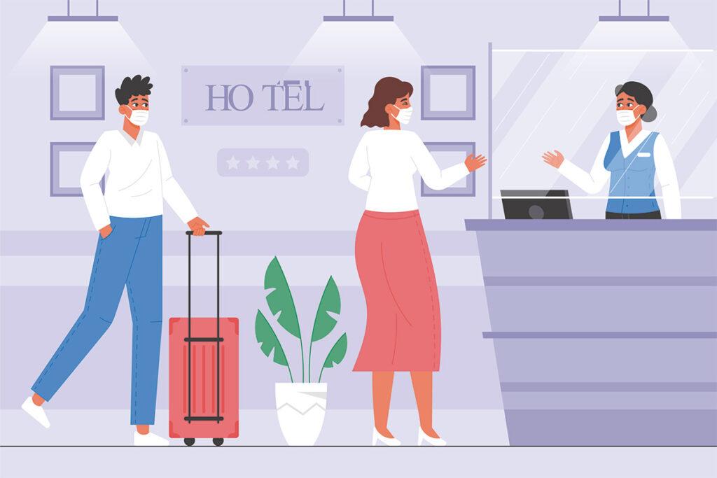 Protocolo anti Covid en hoteles