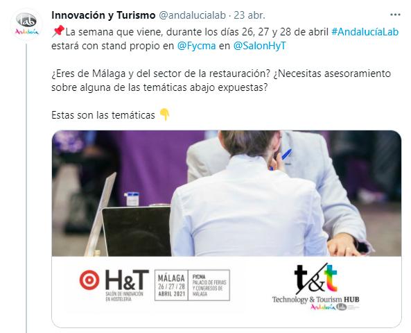 Andalucía Lab en eventos
