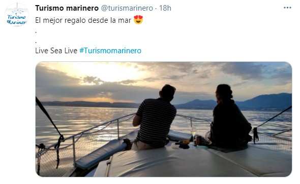 Tuit de Turismo Marinero
